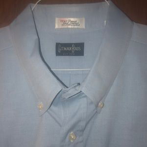 Gitman Bros. Men's Baby Blue Button Down Shirt